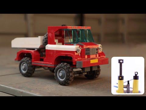 Лего - новая жизнь пневматики! (ENG subtitles)