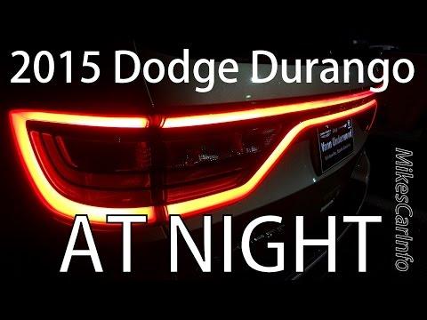 2015 Dodge Durango AT NIGHT