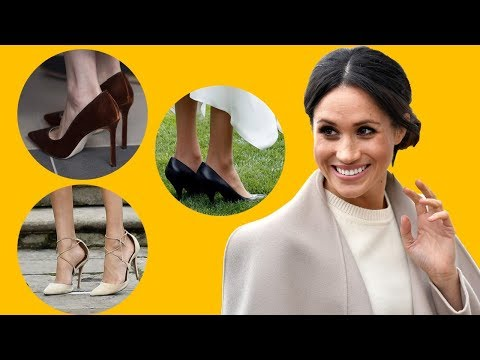 Why Meghan Markle wears shoes that are too big for her?