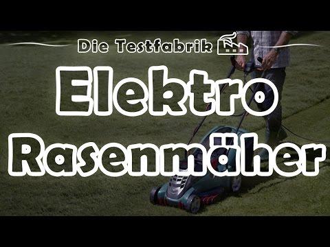 🏡 Elektro Rasenmäher Test – 🏆 Top 3 Elektro Rasenmäher im Test