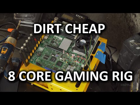Under $150 Budget Gaming 8 Core CPU, Motherboard & 16GB RAM