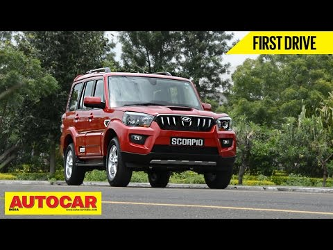 2014 Mahindra Scorpio | First Drive Video Review