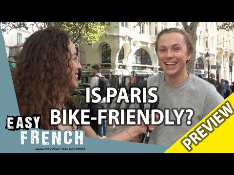 Do Parisians use bikes? (PREVIEW) | Easy French 88