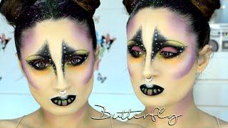 Mariposa, Maquillaje De Fantasía Carnaval Halloween /Butterfly Carnival Party Makeup | VFashionland