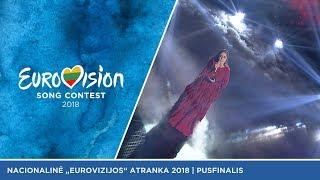 "Monika Marija - ""The Truth"" (liet. ""Tiesa"") - Eurovizijos pusfinalis"