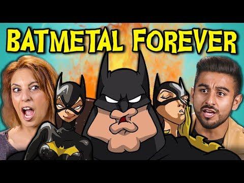 ADULTS REACT TO BATMETAL FOREVER (Death Metal Batman?!)