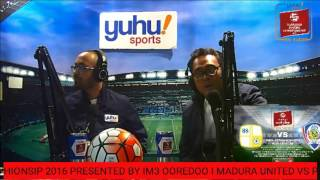 TSC ON RADIO LIVE  BARITO PUTERA 0 VS 1 AREMA CRONUS