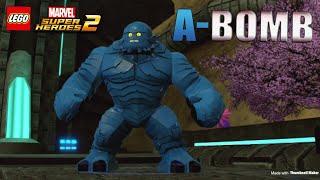 Lego Marvel superheroes 2 Unlocking-A-BomB