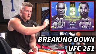 Pat McAfee Gets The Breakdown On Masvidal vs Usman, UFC 251