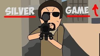 CS:GO Cartoon. Silver Game