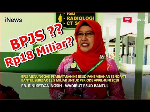BPJS Kesehatan Mengutang Rp18 Miliar ke RSUD Panembahan Senopati Bantul? Part 01 - Scandal 11/08
