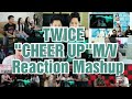 "TWICE ""CHEER UP""M/V Reaction Mashup"