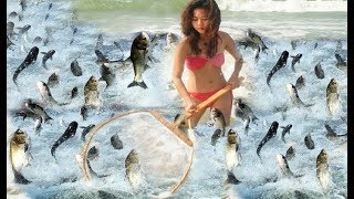 ЗАПРЕЩЁННЫЙ СПОСОБ ЛОВЛИ ! ЗРЕЛИЩЕ НЕ ДЛЯ СЛАБОНЕРВНЫХ ! Вот это рыбалка Ты не поверишь 2018