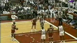Jordan & The Bulls vs Hakeem & The Rockets 1991/92