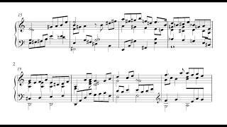 Keith Jarrett - I Fall in Love Too Easily (Transcription) - Ending