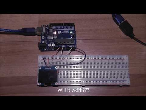 How to test a I2C OLED display