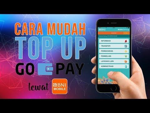 Cara Top Up Saldo GO-PAY Menggunakan Aplikasi BNI Mobile Banking