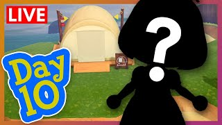 Our First Campsite Visitor! | Animal Crossing New Horizons Quaranstream LIVE