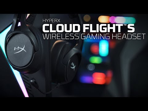 HyperX 最新無線電競耳機 HyperX Cloud Flight S 電池續航力高達 30 小時