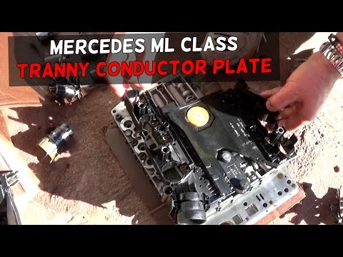 Mercedes w163 transmission control module replacement and location