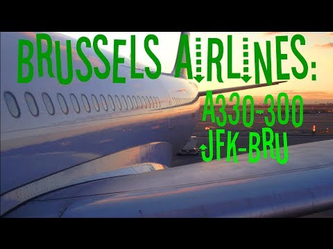 Dantorp Review | Brussels Airlines A330-300 Economy JFK-BRU SN502