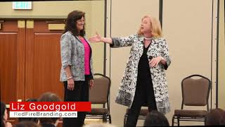 Liz Goodgold on Networking at OC SCORE Women's Business Conference 9-2017