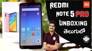 Redmi Note 5 Pro Unboxing & initial impressions ll in telugu ll