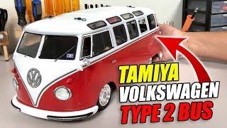 BUILD REVEAL: Tamiya Volkswagen Type 2 (T1) Bus
