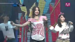 "4Minute - Volume up + Dream racer [Comeback Stage"" LIVE @ M! Countdown"