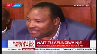 Waititu blocked by court from accessing office following graft charges