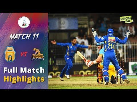 APLT20 2018 M11: Nangarhar Leopards v Kabul Zwanan Full highlights - Afghanistan Premier League T20