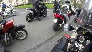 manif' contre le contrôle technique moto (Tours le 5/03/2016)