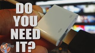 Apple Lightning Digital AV Adapter : Should You Save Your Money?