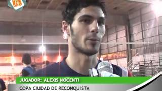 preview picture of video '0234 ALEXIS NOCENTI   Copa Ciudad de Reconquista 7º Torneo Internacional de Voley'