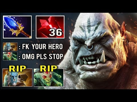 CANCER HERO MID IS BACK Endless Multicast Ogre Delete Hard Carry Team Most Annoying Dota 2