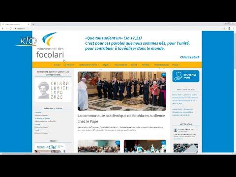 Le site web des Focolari
