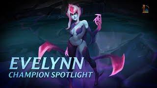 Evelynn Champion Spotlight   Gameplay - League of Legends