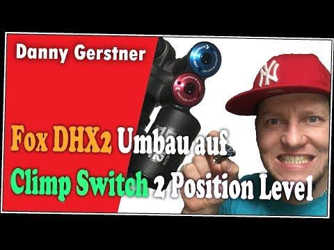 MTB, Fox DHX2 Upgrade auf Climp Switch, 2 Position Level