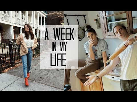 WEEK IN MY LIFE: 6   BTS Filming + We can cook!
