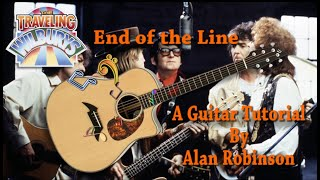 End of the Line - The Traveling Wilburys - Acoustic Guitar Lesson (Ft. my son Jason on lead etc.)
