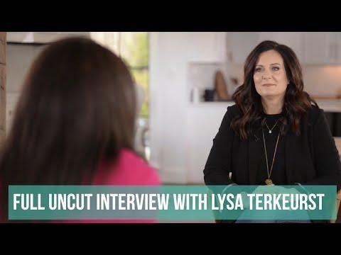 Full Uncut Interview with Lysa Terkeurst