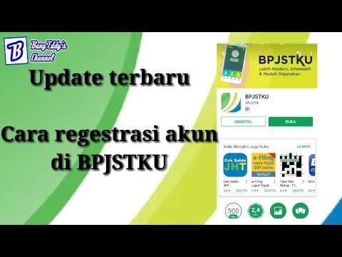 Update terbaru - cara  regestrasi akun BPJSTKU
