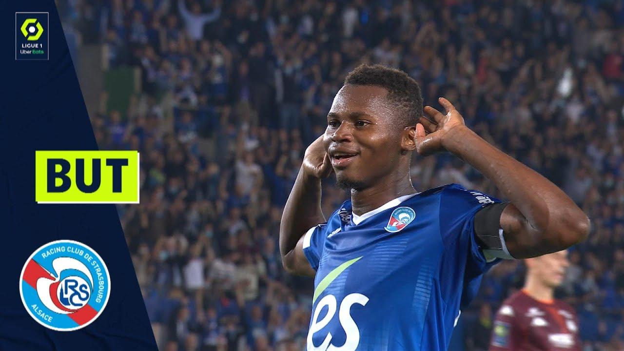 But Habib DIALLO (40' - RCSA) RC STRASBOURG ALSACE - FC METZ (3-0) 21/22