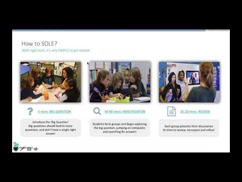 November 2017 – SOLE (Self-Organized Learning Environment)