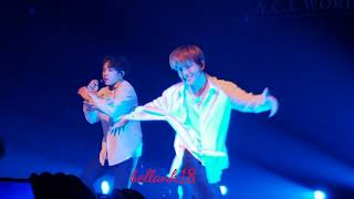 181209 (Dessert - DONGHUN & BYEONGKWAN) A.C.E in New York 'To Be an Ace Tour'