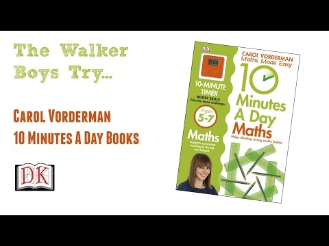 Kids Book Review: Carol Vorderman Maths Made Easy (and others)  – DK Books