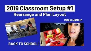 Middle School Classroom Setup 1 | Rearrange And Plan Layout