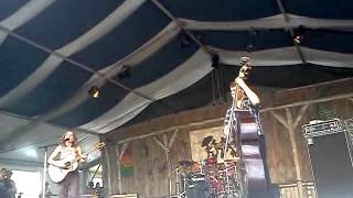 """Splinter"" Ani DiFranco live at JazzFest 2012"
