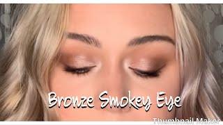 Bronze Smokey Eye | Jaclyn Hill Palette Tutorial | Bronze Summer Look