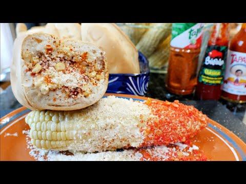 MEXICAN STREET CORN ELOTE | ESQUITE EN BOLILLO